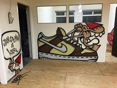 KBTR in Utrecht (Sneakerbaas) - By Janisdeman What To Draw, Utrecht, Cool Art, Graffiti, Street Art, Doodles, Drawings, Artist, Diy