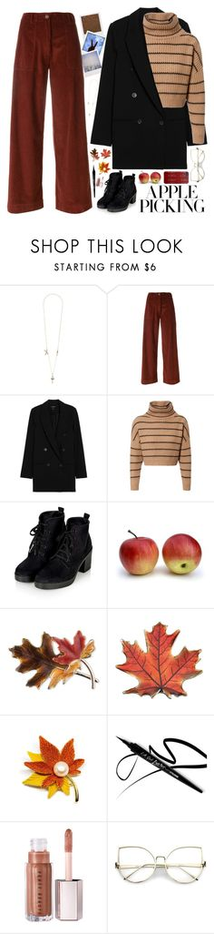 """Apple picking"" by samarinara ❤ liked on Polyvore featuring Impossible Project, Polaroid, SEMICOUTURE, Brunello Cucinelli, Anne Klein and applepicking"