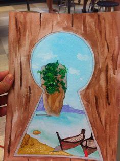 Keyhole painting