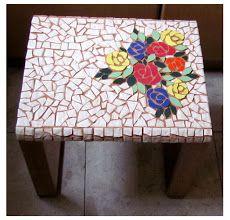 Photo: שולחן פסיפס - נעמי