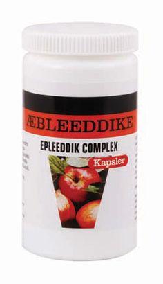 Æbleeddike Complex, kapsler, 90 stk., 300 mg. Indeholder æbleeddike, chitosan, spirulina, chlorella og blæretang KOSTTILSKUD | Natur-Drogeriet A/S