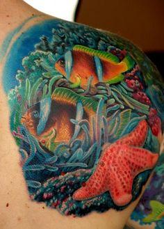 Boris Tattoo~Reef Tattoo