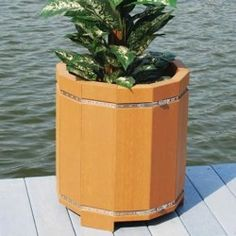 Hawk Recycled Plastic Planter | Garden Planters | BigPlanters.com $250 Planter Garden, Patio Planters, Planter Pots, Plastic Planter, Recycling, Canning, Window Boxes, Home Canning, Recyle