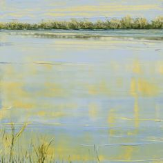 Everglade Reflection; oil on panel #markwhite #markwhitefineart #mwfa #fineart #gallery #landscapes #oilpaint #paintings #water #reflections #santafe #newmexico #canyonroad #artist #painter