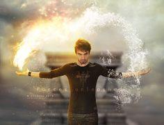 Hij was het die ze al die tijd hadden gezocht de man die zowel als water als vuur kon sturen en creëren. Hij zou de oorlog beslissen want niemand kon hem stoppen