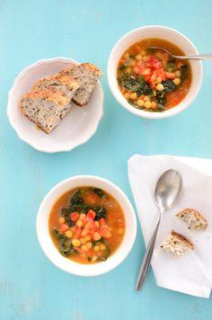 Tunisian Breakfast Soup...great idea for freezing too!