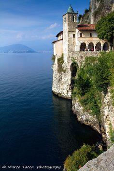 Hermitage of Santa Caterina del Sasso, Leggiuno, Varese, Italy