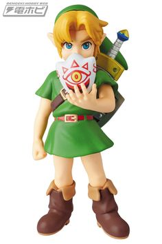 The Legend of Zelda: Majora's Mask Young Link figure by Medicom Toy
