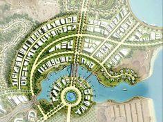 Ideas Resort Landscape Design For 2019 Landscape Architecture Design, Landscape Plans, Futuristic Architecture, Architecture Plan, Urban Landscape, Urban Design Plan, Plan Design, Site Development Plan, Plan Maestro