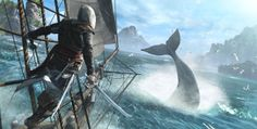 Assassin's Creed Black Flag swabbing decks on Wii U, PlayStation 3 / PC, Xbox 360 and next Xbox The Assassin, Saga Assassins Creed, Assassins Creed Black Flag, Xbox 360, Parkour, Assassin's Creed Videos, Assassin's Creed Black, Connor Kenway, Edwards Kenway