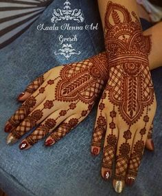 Indian Henna Designs, Unique Mehndi Designs, Beautiful Mehndi Design, Henna Tattoo Designs, Bridal Mehndi Designs, Henna Tattoos, Paisley Tattoos, Design Tattoos, Wedding Henna