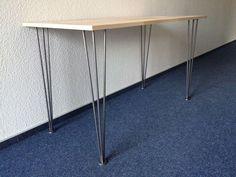 """Tischbeine """"hairpin leg""""  70cm  Filz Stahl Stützfuss Tischkufen    eBay"""