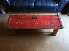 Tailgate table....I may be picking apart that old Ford in my backyard since he ain't selling it!!!  this would be a cool memory piece!!