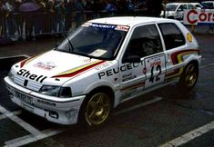 Peugeot 106, 3008 Peugeot, Fiat 500, Rally Car, Cars And Motorcycles, Touring, Pugs, Race Cars, Van