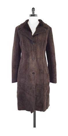 Pasha Veneto Brown Lambskin & Shearling Fur Coat