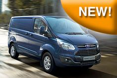 Officina Mobile Store Van per Nuovo Ford Transit Custom