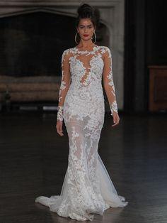 Berta fit and flare | itakeyou.co.uk #wedding #weddingfashion #bridal #weddingdress #weddinggown #bridalgown #weddingdresses #weddinggowns #berta #bridalinspiration #weddinginspiration #engaged