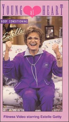 Our Beloved Sophia <~> Estelle Getty Starred on the Golden Girls, Gave Us her Golden Smile, the Jokes that Made us All Laugh, and Inspired Us Always, Proving Laughter is the Best Medicine ! Estelle Getty Young, Best Sitcoms Ever, Color Television, Young At Heart, Golden Girls, Classic Tv, Along The Way, Best Shows Ever, Workout Videos