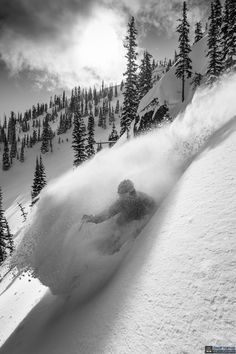 Ghost in the whiteness by Geoff Holman on truefie captures the moment of e. - Ghost in the whiteness by Geoff Holman on truefie captures the moment of extreme sport ski - Ski Extreme, Extreme Sports, Alpine Skiing, Snow Skiing, Snowboards, Winter Fun, Winter Snow, Photo Ski, Location Ski