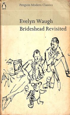 dear-sebastian: Daily reminder that Quentin Blake's cover for Brideshead Revisited is adorable, and he even got the postage stamp tie right!
