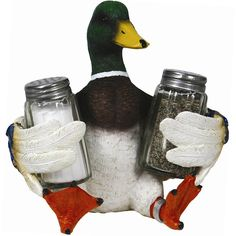 Mallard Duck Salt & Pepper Shakers 577 | Buffalo Trader Online