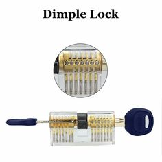 Transparent Lock Pick Set with Hand Tool Sets for Locksmith Practice Training - Tmart Hand Tool Sets, Hand Tools, Apple Technology, Training, Work Outs, Excercise, Onderwijs, Race Training, Exercise