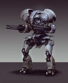 ///// Picture  (2d, mech, robot, sci-fi)