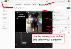 Free Technology for Teachers: How to Create YouTube Photo Slideshows - A Good Alternative to Animoto