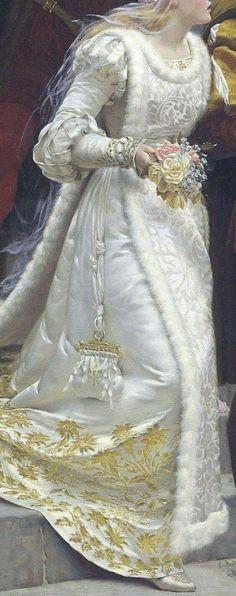 Chiamata alle armi (dettaglio) Edmund Blair Leighton Olio su tela, 1888 Collezione privata Call to arms (detail) Edmund Blair Leighton Oil on canvas, 1888 Private collection