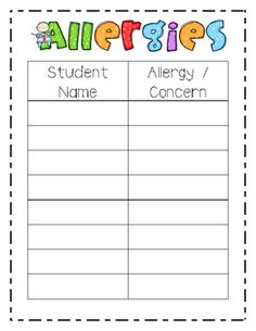 Substitute Folder Printables!  This packet includes 21 pages of printables that you can put in a substitute folder.  Some you can fill out and use all year (ex. roster or schedule) or printables you can use for each substitute).  $