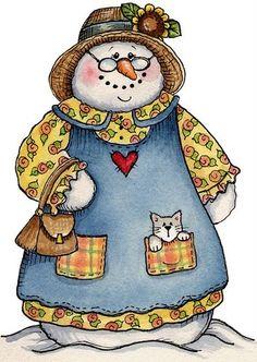 snow grandma