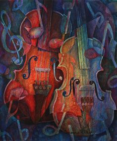 """Noteworthy - A Viola Duo"" by Susanne Clark"