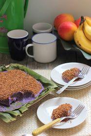 adobo down under: Maja ube (purple yam coconut pudding)