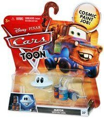 Disney Pixar Cars Toon MATOR with OIL CANS by MATTEL. $25.77. UFM UNIDENTIFIED FLYING MATOR. THANKS FOR LOOKING... FROM MIDNIGHTBAY. DISNEY CARS TOON UFM THE UFO MATOR WITH OIL CANS. TOY OR COLLECTIBLE. 2010 DISNEY CARS TOON SERIES UFM MATOR WITH OIL CANS. UFO MATER
