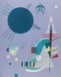 Violet - Green (1926)  by Wassily Kandinsky