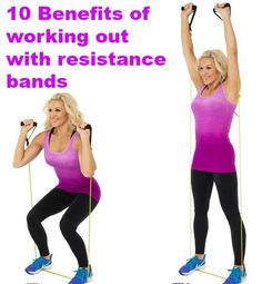 10 of Many Benefits of A Workout with Resistance Band http://blog.styles2fitness.com/