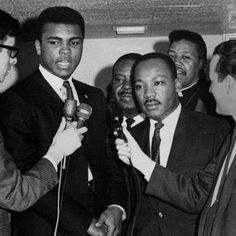 Muhammad Ali and Martin Luther King Jr