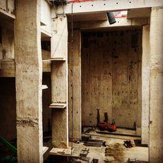 Béton brut #bassin #ganay #architecture #marseille #acvvarchitecture