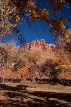 Fall at The Castle, Capitol Reef National Park, Utah | Jeff Sullivan