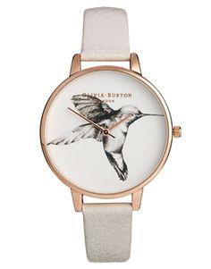 Olivia Burton Mink Hummingbird Watch #Watches #WellRoundedFashion