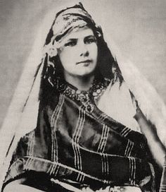 Isabelle Eberhardt, 1877-1904, Swiss Explorer, writer. Dressed as a man travelled in Arab society. Converted to Islam in 1897.