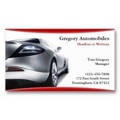 Auto Sale Car Dealership Business Card | Business cards
