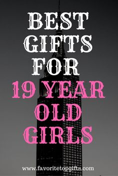 Get ready for the holidays & find the best #gift ideas for 19 year old girls!