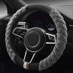 Black Pink Warmer Hands in Winter Rayauto Steering Wheel Cover -Odorless Cooler Hands in Summer