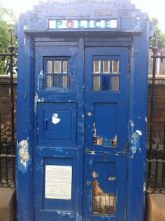 let the TARDIS die. Just let this old box gather dust. No one can open it, no one will even notice it. Let it become a strange little thing standing on a street corner. And over the years, the world will move on, and the box will be buried. West End Glasgow, Glasgow Uk, Abandoned Buildings, Abandoned Places, Doctor Who Tumblr, Police Box, Old Boxes, Uk Photos, Best Cities