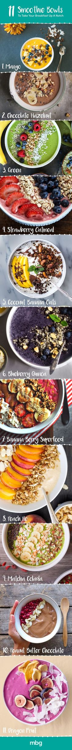 These smoothie bowls can completely transform your morning!: