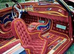 The Hog Ring is the auto upholstery industry& leading news website and online community. Visit for the latest car interior repair news, trends, projects and more. Lowrider, Pretty Cars, Cute Cars, Subaru, Velvet Car, Custom Car Interior, Car Camper, Cute Car Accessories, Car Upholstery