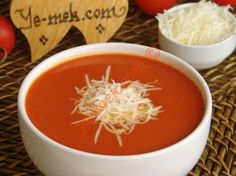 Domates Çorbası - Fell in love with this Turkish tomato soup