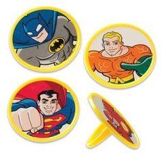 superhero rings - cute favor
