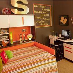 Contemporary (Modern, Retro) Bedroom by Robin Bond